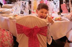 Little ring bearer enjoying himself at Lismoyne Hotel wedding, by www.sausageandsweetpea.com