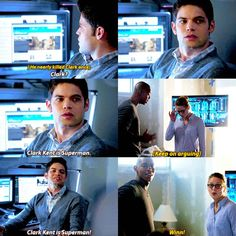 This was one of the best lines of that episode <<<I agree.He was the only one who didn't know.