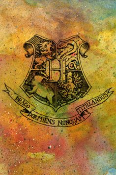 Hogwarts Crest iPhone and iPod Background