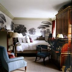 See all our guest room design ideas on HOUSE, design, food and travel by House & Garden. Double Duty Spaces