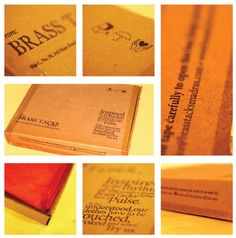 Brass Tacks - Packaging Design Invitation Cards, Invitations, Brass Tacks, Packaging Design, Insight, Cool Designs, Menu, Messages, Inspiration