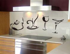adesivos de parede cozinha - Pesquisa Google