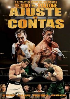 Ajuste de Contas CO-ESP (2014) 1 H 53 Min Título Original: Grudge Match Assisti 11-2016 - MN 7,5/10 (No Pin it)