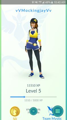 My Pokemon Go! GO TEAM MYSTIC