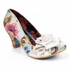 Possibly too weddingy  Irregular Choice 2017 Bridal Shoe Collection... ~ Hot Chocolates Blog      #wedding #weddings #bride #groom  #weddingshoe #shoe #shoes #irregularchoice    www.hotchocolates.co.uk  www.blog.hotchocolates.co.uk  www.evententertainmenthire.co.uk