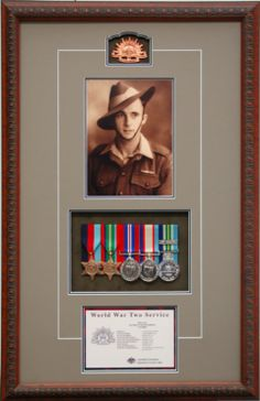 Australian Medals and Framing