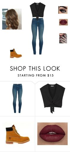 """Undefined Beauty"" by ajwray07 ❤ liked on Polyvore featuring J Brand, Alice + Olivia and Timberland"
