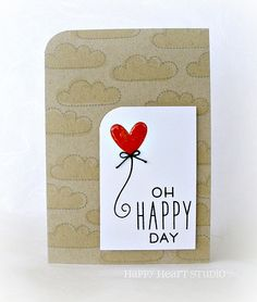 Lawn Fawn - Hello Sunshine _ Oh Happy Day- wedding card | Flickr - Photo Sharing!