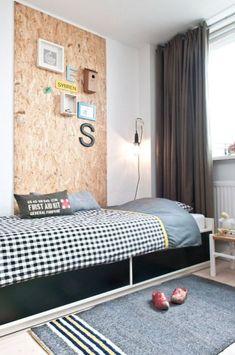 La Petite Anne: OSB desky - levný a dobrý! Small Room Bedroom, Baby Bedroom, Luxury Bedroom Design, Interior Design, Boys Bedroom Themes, Teenage Room, Master Bedroom Makeover, Bedroom Vintage, Luxurious Bedrooms