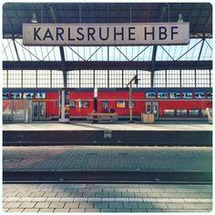 onwards to Kontanz! #Karlsruhe #Bahnhof