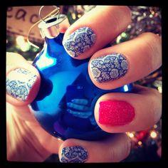 Love my Jamberry nails.  Www.emtgirl1821.jamberrynails.net