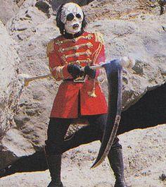 KAMEN RIDER STRONGER (1975) - VILLAINS - Major Skull - Tokusatsu Super Sentai