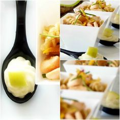 Finger food di pasta fresco estivo e leggero Finger food di pasta fresco estivo e leggero