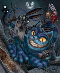 Alice in Wonderland ( Dark Alice In Wonderland, Alice Liddell, Frog Art, Rabbit Art, Wine Art, Arte Horror, Lowbrow Art, Pop Surrealism, Whimsical Art