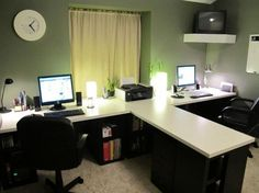 Home Office Furniture For Two Google Search