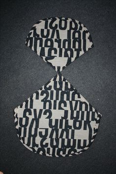 """Girard's """"Letters"""" from 1955, reissued by Maharam, custom upholstery by eamesbikini.com"""