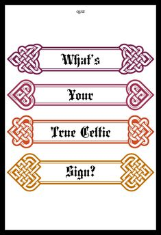 The ancient Celts and their Druid spiritual leaders believed strongly in an oral tradition, but we hope they will forgive us for actually writing this quiz down. We find it easier that way. Celtic Signs, Pick Up Lines Cheesy, Holly Tree, Alder Tree, Oak Tree, Fun Quizzes, Book Of Shadows, Forgive, Celtic Knot
