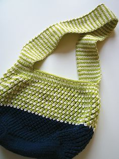 Ravelry: G-knits' III-lene.  Super-cute! I like the extra navy on the bottom.