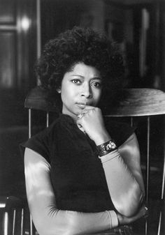 Alice Walker. Author and activist. Beautiful.