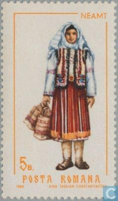 Postage Stamps - Romania [ROU] - Costumes