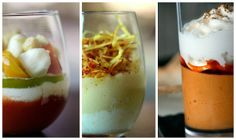 Restaurante 80 Grados - Madrid. Miniplatos