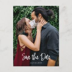 Save The Date Postcards, Save The Date Magnets, Save The Date Cards, Modern Wedding Save The Dates, Plan Your Wedding, Wedding Ideas, Postcard Size, Handwriting, Fall Wedding
