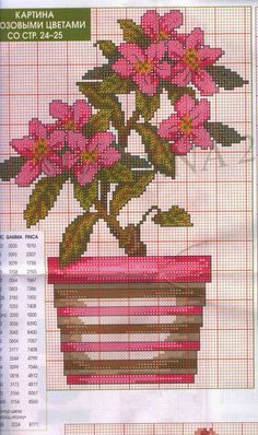 Crochet Knitting Handicraft: Embroidery flowers