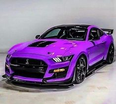 Ford Mustang Shelby Gt500, Mustang Cars, Ford Gt500, Luxury Sports Cars, Top Luxury Cars, Lamborghini Cars, Ferrari, Purple Mustang, Porsche