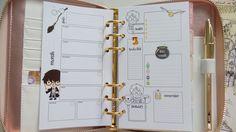 Nuovi refill non datati Personal soggetto Harry Potter in formato digitale PDF disponibile su Etsy. www.etsy.com/it/shop/BrunellaBiStore