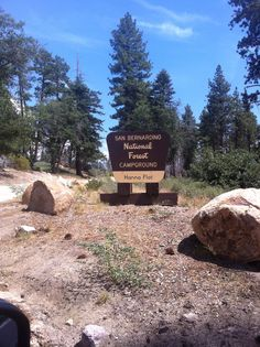 Big Bear Lake, Ca. Hanna Flat (Fawnskin) Open: Mid May  Closed: mid October
