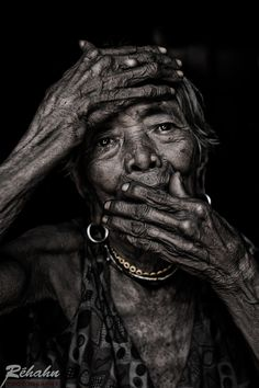 """500px / Photo """"101 years old in Vietnam"""" by Réhahn Photography, I'm a psychic and healer but most of it like beauty and arts, go here for more, http://www.ninaohmanarts.com"""