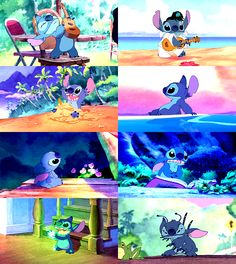 """Lilo and Stitch - My cuddle movie with Ian, whom we called """"Stitch"""" when he was a toddler because he had an equally """"high badness level for someone his size"""", but was also adorable beyond.  This movie still makes me LOL!"""