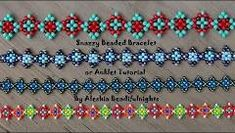 Beaded Daisy Chain Stitch Tutorial - YouTube