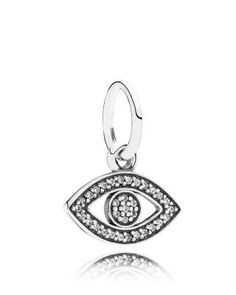 PANDORA Pendant - Sterling Silver & Cubic Zirconia Symbol of Insight, Moments Collection | Bloomingdale's