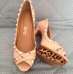 Dressbe | Santa Lolla #shoes #santalolla #sapato #peeptoe #moda #fashion #dressbe
