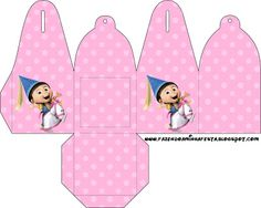 Despicable Me Girls - Box Bell