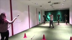 Archery fail: arrow to the groin