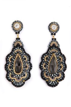 Rent To Die For Earrings by Miguel Ases for $35 only at Rent the Runway.