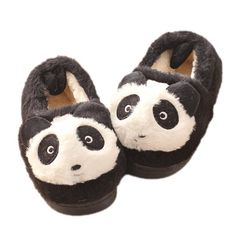 Lady Shoes Ladies Casual Cartoon Thick Soles Homelike Cotton Slippers Sheep Pattern Girlish Cute Cartoon Warm Stylish Wild Indool Shoes