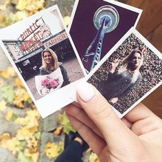 Printed these Seattle keepsakes with the Polaroid Zip