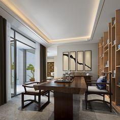 新中式茶室tea room