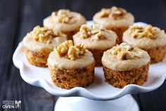 A simple and super-delicious recipe for raw carrot cake, topped with raw cashew vanilla frosting. Try it today!