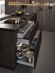 Fantastic modern kitchen room are available on our web pages. Read more and you wont be sorry you did. Kitchen Pantry Design, Luxury Kitchen Design, Contemporary Kitchen Design, Home Decor Kitchen, Interior Design Kitchen, Kitchen Ideas, Kitchen Inspiration, Kitchen Organization, Kitchen Cupboard