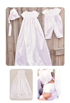 A coordinating collection, the Phoebe, takes your little girl from a flowy gown at her big ceremony to a comfortable romper for the reception with a sweet pink braid detail.  https://www.onesmallchild.com/catalogsearch/result/?q=phoebe