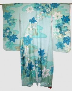 Gorgeous Furisode I'll use to make clothes for my brand Sanagi Atelier