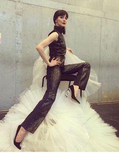 Piton print jumpsuit, Olivia Cowley model & styling, Korizma design.