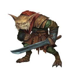 Male Bugbear Marauder - Pathfinder 2E PFRPG PFSRD DND D&D 3.5 4E 5E 5th ed d20 fantasy