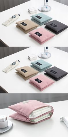 Ladies, meet the Plain Secret Pouch design to carry feminine hygiene products exclusively when you are away from home. This pouch has a design that can fit in any bag or purse, and can fit up to 6 pads at once! It is made 100% with cotton to keep the pads clean and make it easy to store or take them out more conveniently.