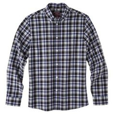 $18 saw in store, very nice / Merona® Men's Long Sleeve Button Down Button Downs, Button Down Shirt, Work Shirts, Men Casual, Buttons, Nice, Store, Long Sleeve, Sleeves