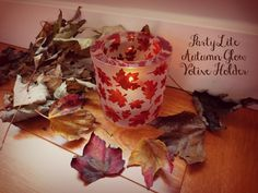 Autumn Glow Votive Holder from PartyLite